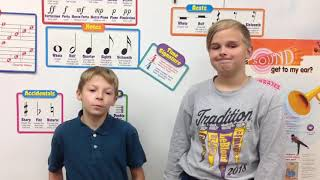Morning Announcements October 22, 2018