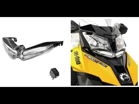 hqdefault ski doo auxilary led headlight install on 2014 youtube  at suagrazia.org