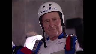 George Bush's Secret Passion for Skydiving