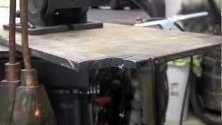 LONGEVITY FORCECUT 42i PLASMA CUTTER REVIEW ON 110V CUTTING 3/8
