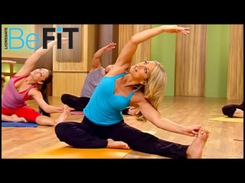 Hot Body Yoga Workout   Yoga Fit- Denise Austin
