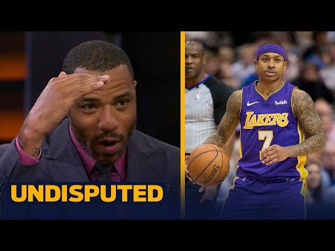 Kenyon Martin takes issue with Isaiah Thomas trashing LeBron's Cavs practicing habits | UNDISPUTED