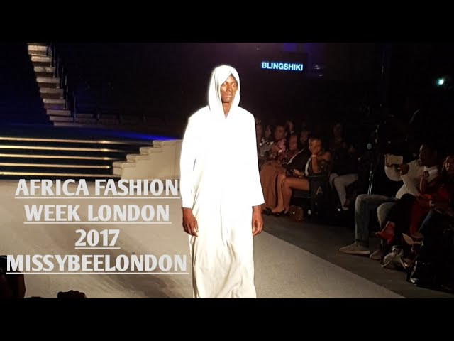 AFWL AFRICA FASHION WEEK LONDON FRIDAY 2017 | MISSYBEELONDON