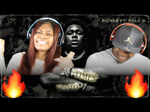 ROD WAVE- RICHER 🤑 FT. POLO G (OFFICIAL AUDIO) REACTION