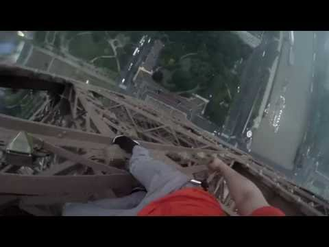 CLIMBING THE EIFFEL TOWER + DRONE