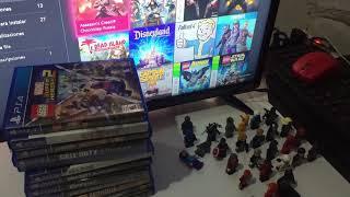 Colección de Minifiguras Lego yVideojuegos Ps4 y Xbox One !!!!