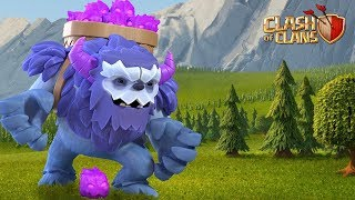 New Troop Yeti | TH13 New Update Clash of Clans - COC