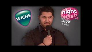 Wichs mit Brusthaar - Faisal Kawusi bei NightWash live