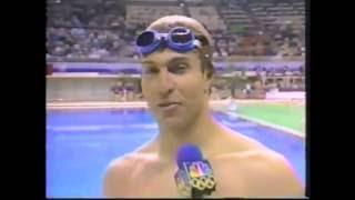 1988 Olympic Games - Swimming - Men