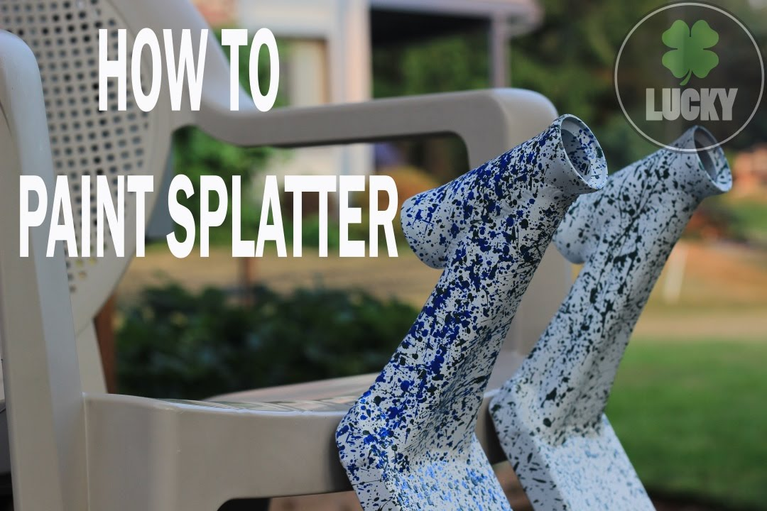 Lucky Scooters  HOW TO PAINT SPLATTER  YouTube