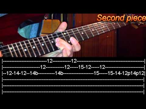 Nothing Else Matters solo Guitar Lesson - Metallica(with tabs)