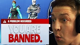 Fortnite Account gebannt ... | SpontanaBlack