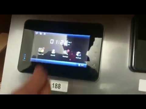 ip video t rsprechanlage kalibrierung von touchscreen. Black Bedroom Furniture Sets. Home Design Ideas
