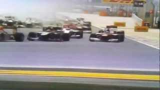 Старт гран при Бахрейна 2012 Ф1