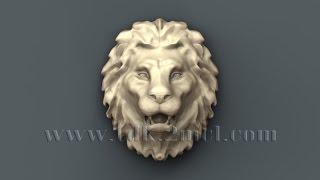 Гербы, картуши и маскароны - 3D модели для ЧПУ - Emblems, cartouches and mascarones