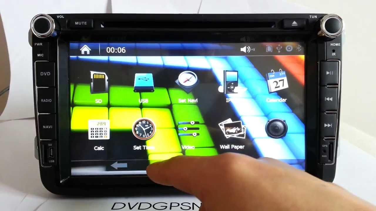 8 volkswagen golf 4 car dvd car radio gps navigation vw. Black Bedroom Furniture Sets. Home Design Ideas