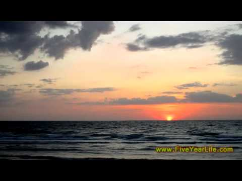 April Sunset on Sand Key Island, Florida