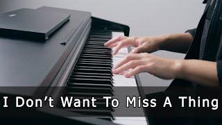 Download Lagu I Don't Want To Miss A Thing - Aerosmith (Piano Cover by Riyandi Kusuma) mp3
