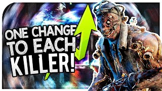 Dead By Daylight One Change I'd Make To Every Killer! - DBD Killer Changes (DBD Discussion)