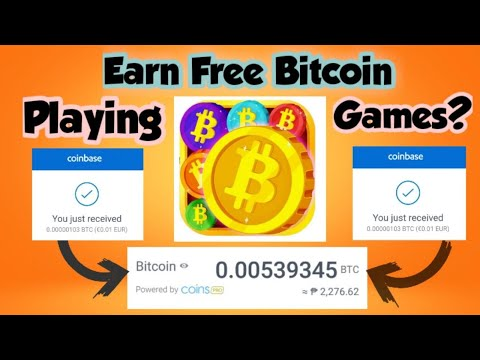 FREE BITCOIN 2020 | Playing Games And Earn Bitcoin | 100% FREE Legit