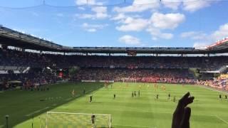 Daniel Agger tilbage på Brøndby Stadion