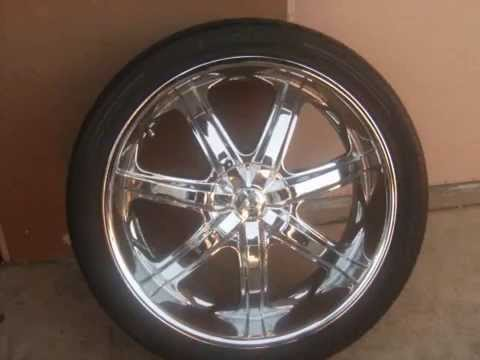 24 inch rims for sale youtube. Black Bedroom Furniture Sets. Home Design Ideas
