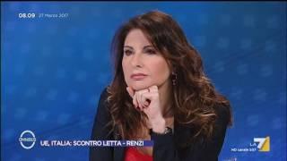 Omnibus - UE, Italia: scontro Letta - Renzi (Puntata 27/03/2017) thumbnail