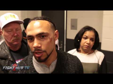 """Keith Thurman """"I proved some of my greatness tonight!"""""""