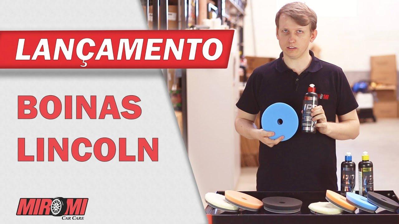 Boinas Lincoln e Lustrador Lincoln para Polimento - YouTube 760fae5730c