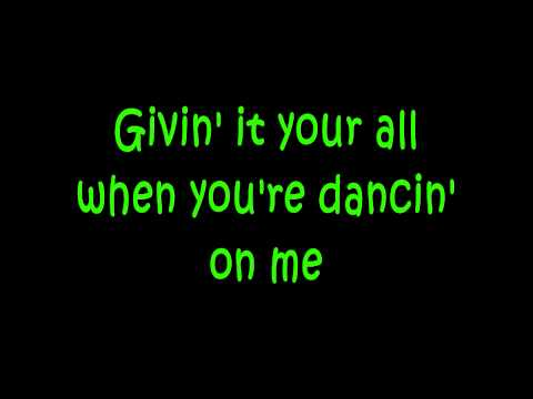 Pitbull  Hey Ba Drop It to the Floor ft TPain +  Lyrics on Screen   HQHD
