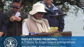Reflections/Renewal: A Tribute to Angel Island Immigrants - [9] Eugenia Bailey