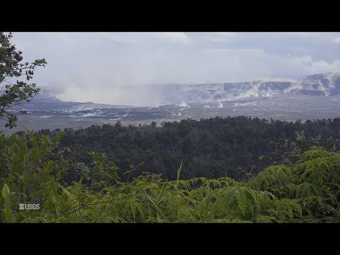 Kīlauea Volcano — Collapse/Explosion Event at Halema'uma'u