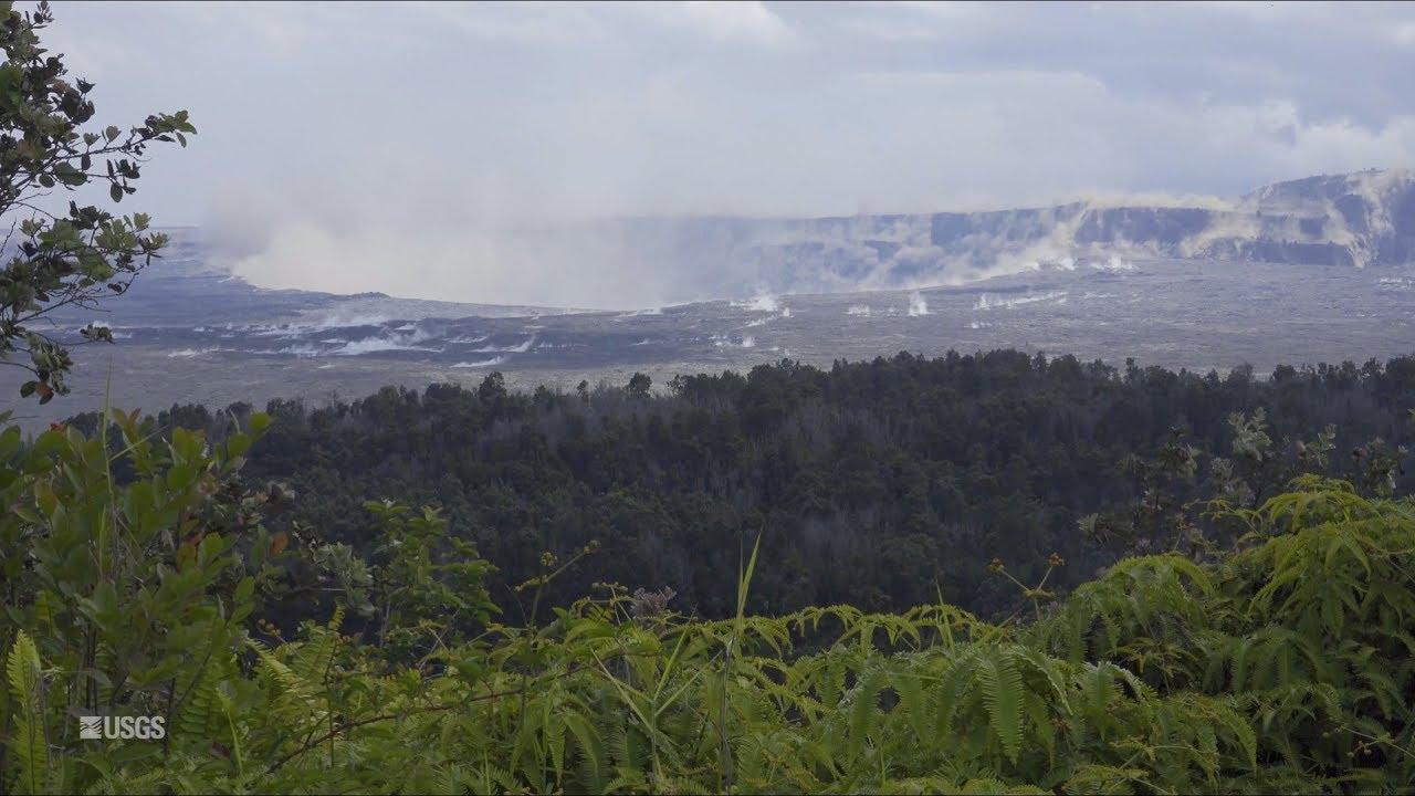 Kīlauea Volcano — Collapse/Explosion Event at Halema'uma'u