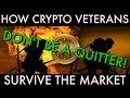 How Cryptocurrency Veterans Survive The Market | AltCoin Army