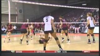 rainbow wahine volleyball 2011 wac championship 3 hawai i vs new mexico state part 1 of 3