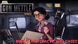 Gun Mettle Bonus Contracts and Cases