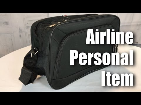 "Airlines personal item sized, 16"", 19L, Carry On, Hand Luggage, Flight Duffle Bag by 5Cities review"