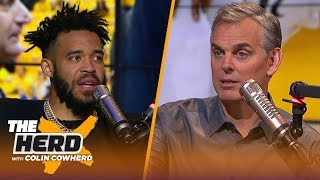Download JaVale McGee talks Warriors' culture, Draymond's dominance & LeBron | NBA | THE HERD Mp3 and Videos