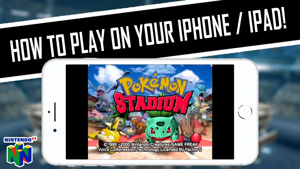 HOW TO PLAY Pokemon Stadium (Nintendo 64) on iPhone, iPad, iPod, iOS