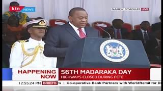 President Uhuru urges media to convey positive stories about Kenya #MadarakaDay2019