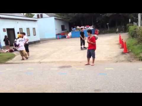 Daniel skateboard demo