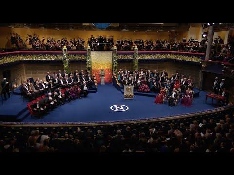2015 Nobel Prize Award Ceremony Held in Stockholm