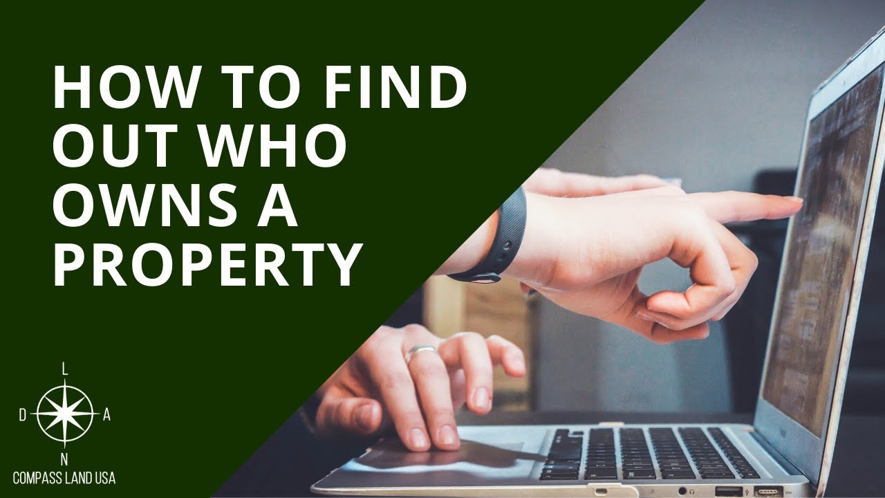 How To Check Who Owns A Property for FREE