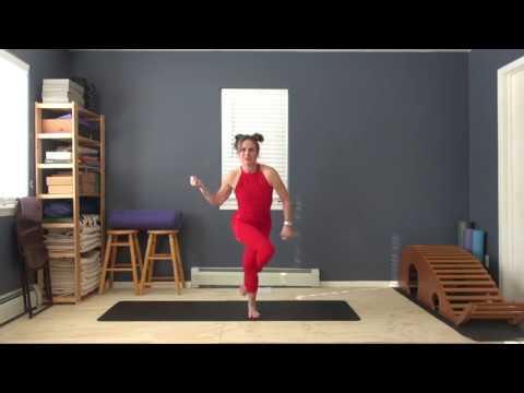 yoga tips for garudasana legs  youtube