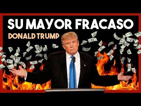 🏢 El presidente que quebró 6 Empresas | Biografía Donald Trump
