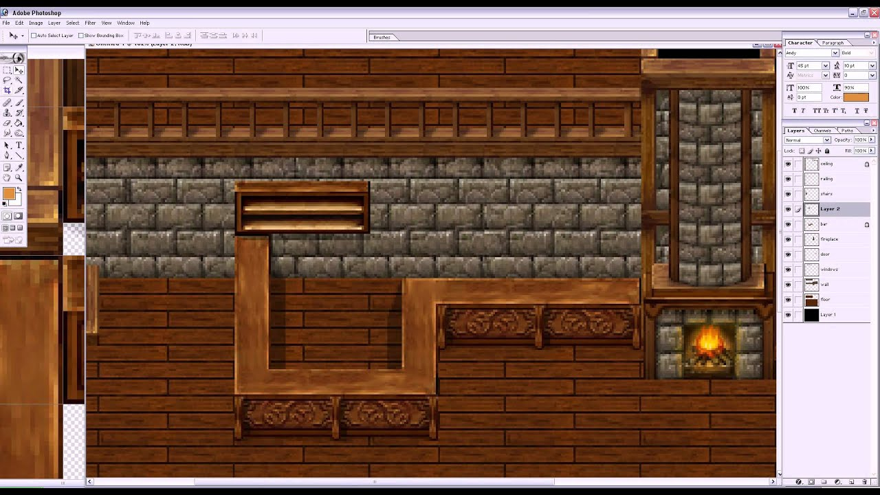 Parallaxing Maps For Rpg Maker Vx Youtube