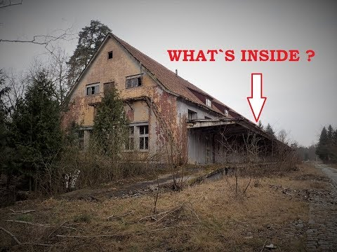 Secret German WW2 Factory.   What A Location !