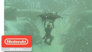 The Legend of Zelda: Breath of the Wild - Beyond the Plateau Gameplay - Nintendo E3 2016