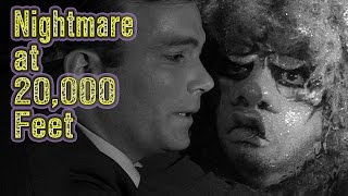 Shatner v The Gremlin -- Two Minute Twilight Zone Project --  Nightmare at 20,000 feet