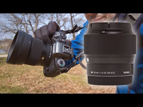 EF-M Sigma 56mm f1.4 DC DN Lens Details And Tests